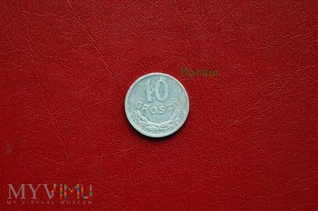 Moneta: 10 groszy