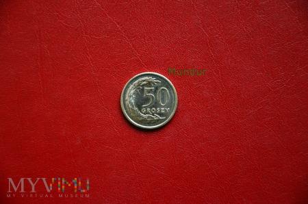 Moneta: 50 groszy od 1995r.
