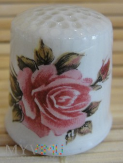 Duże zdjęcie Naparstek z różą