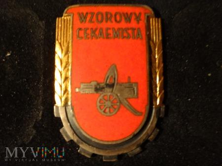 Wzorowy Cekaemista z 1953r.
