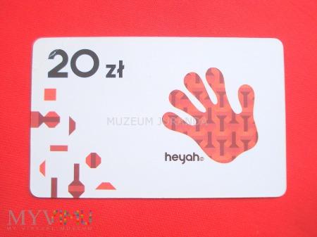 Heyah 20 zł.(3)