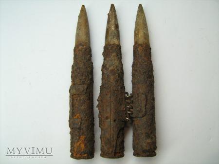 Amunicja do MG + fragmenty taśmy