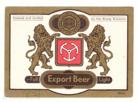 Brzeg, Export Beer