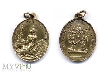 Medalik św. Marii Magdaleny z Sainte-Baume
