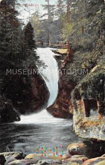 Karkonosze - Wodospad Szklarki Kochelfall - 1931