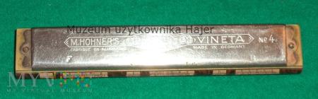 M.Hohner's Vineta Made in Germany No 4 F C G