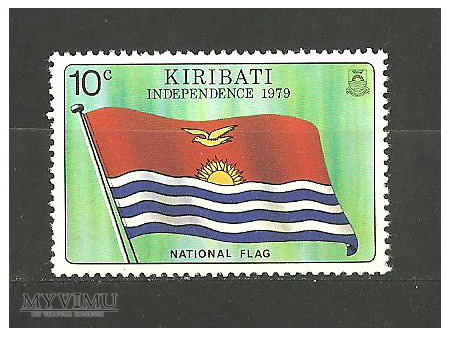Duże zdjęcie Flaga Kiribati