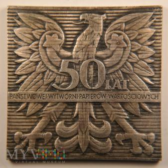 1969 - 12/70 - 50 lat Państwowej Wytwórni Papierów