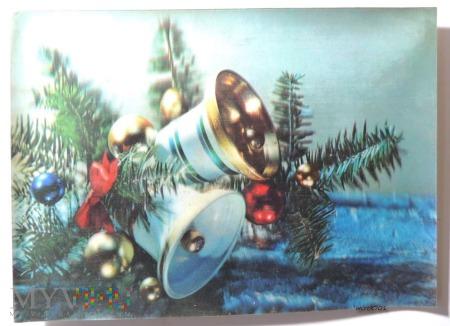 Kartka świąteczna Bożego Narodzenia 3D
