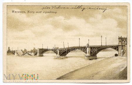 W-wa - III Most - Poniatowskiego - 1915
