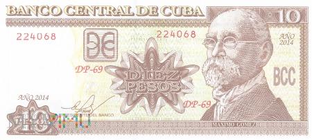 Kuba - 10 pesos (2014)