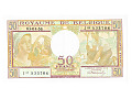Belgia - 50 franków 1956r.