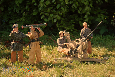 2cm Flak38 z II batalionu Flak Regiment 5.