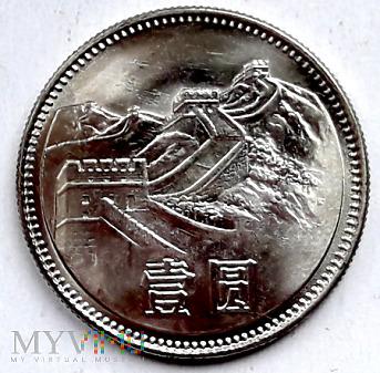 Duże zdjęcie ChRL 1 yuan 1981