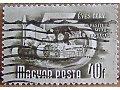Ciągnik rolniczy na znaczku