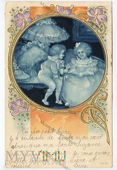 Pocztówka artystyczna - 1904