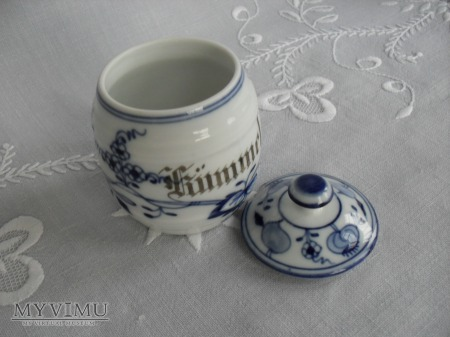 """Pojemnik """"cebulowy"""" na kminek (Kummel)"""