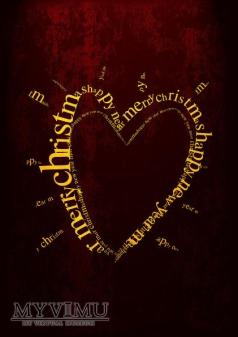 Duże zdjęcie 'świąteczne serce'