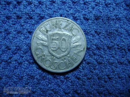 Austria 50 Groschen 1947