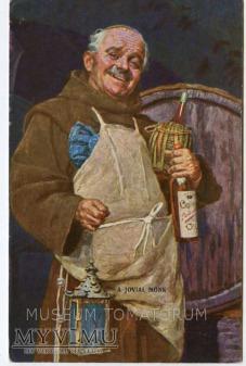 Monk Friar Mönch capucin zakonnik - degustacja 3