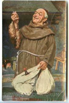 Monk Friar Mönch capucin zakonnik - jadło 2