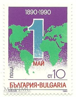 Święto 1 Maja - Bułgaria - 1990 r.