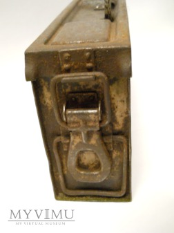 Skrzynka na amunicję do MG 34/42- stalowa