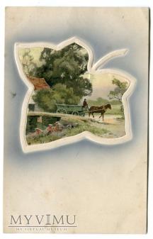 Sielanka zaklęta w liściu 1909 Meissner & Buch