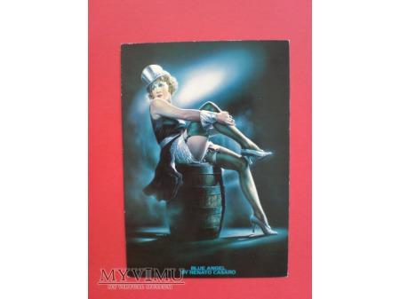 Marlene Dietrich Błękitny Anioł Renato Cesaro