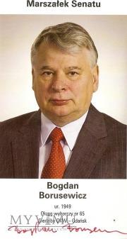 Autograf od Bogdana Borusewicza