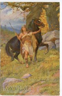 Vlasta - Wojowniczka z koniem