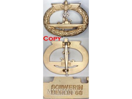 Odznaka dla Załóg Łodzi Podwodnych