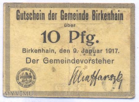 Gmina Brzeziny 10,25,50 fenigów