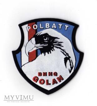 POLBATT BNHQ, Golan