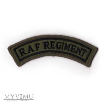 RAF Regiment - Pułk Królewskich Sił Powietrznych