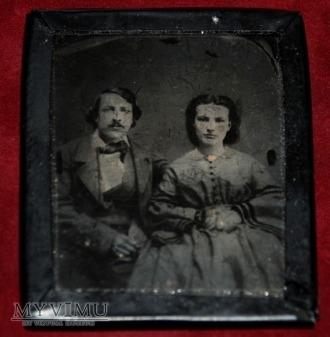 Małżeństwo - ambrotyp