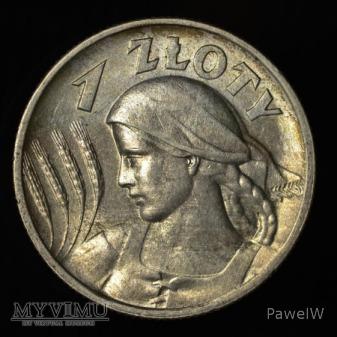 1925 1 zł (Londyn, cztery pazury)