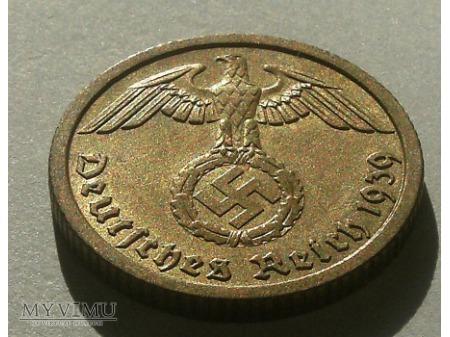 10 reichspfennig 1939 rok.