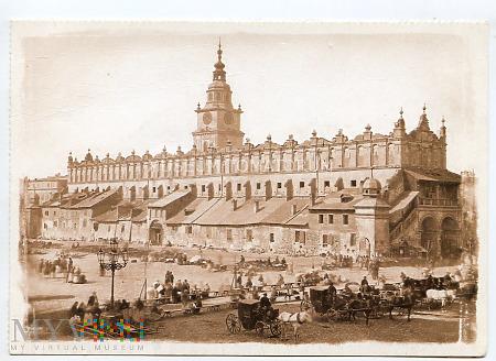 Kraków - Rynek - Sukiennice - 1875