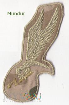 Oznaka GROM na mundur w kamuflażu pustynnym