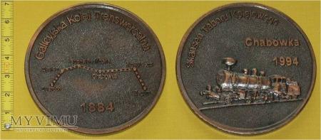 Medal kolejowy Kolei Transwersalnej