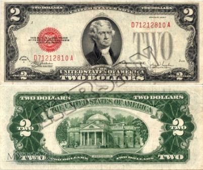 Banknot $ 2.00 1928 r