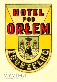 Nalepka hotelowa - Zgorzelec - Hotel Pod Orłem