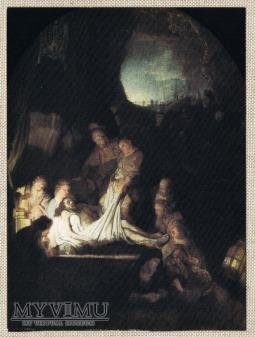 Rembrandt Van Rijn (1606-1669) Złożenie do grobu