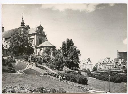 Duże zdjęcie W-wa - Kościół św. Anny od skarpy - 1966