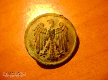 guzik niemiecki Republiki Weimarskiej