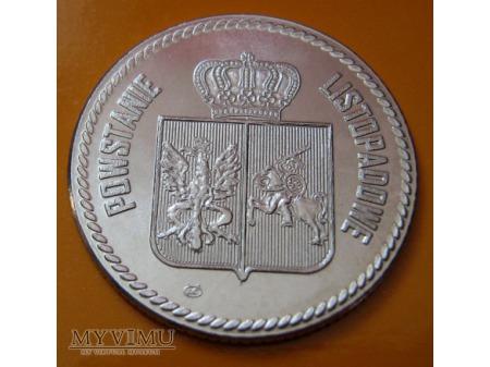 180 lecie bitwy pod Iganiami - numizmat.
