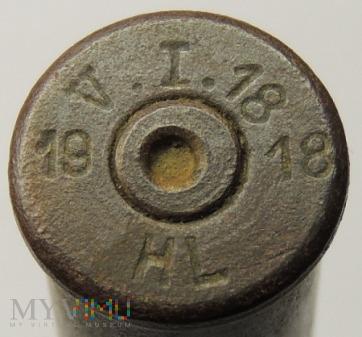 Łuska 8x58 R Krag V.I.18 18 HL 19