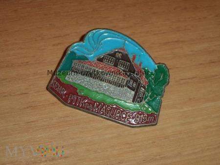 Odznaka SCHRONISKO PTTK NA MAGURCE 913 m