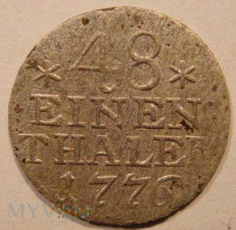 48 EINEN THALER 1776